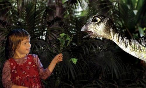 News QLD hero dinosaur petting zoo erth visual and physical inc1