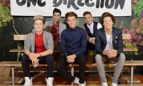 One Direction wax figures at Madame Tussauds Sydney