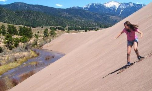 Sand Dunes National Park Credit NPS