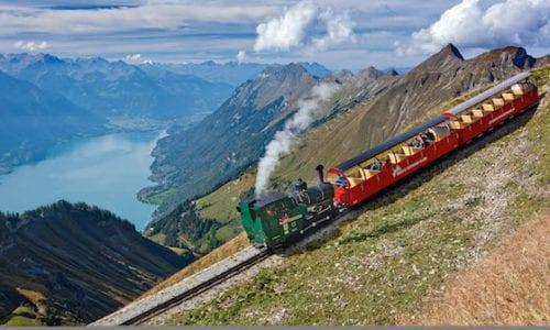 Swiss steam rail