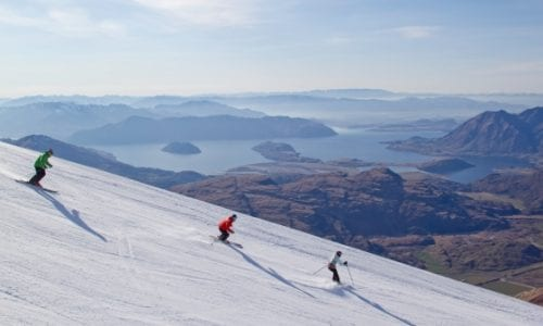 Treble Cone Spectacular Skiing