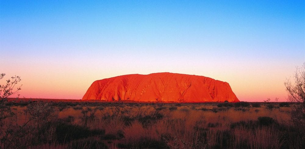 Uluru Kata Tjuta National Park in the Northern Territory Image Tourism Australia