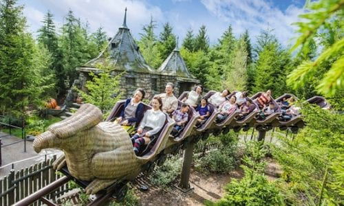 Universal Osaka Harry Potter Flight of the Hippogriff 2
