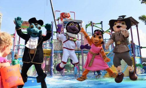 characters on gold coast at paradise resort