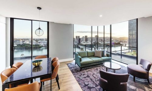 feature a two bedroom premier room at adina apartment hotel brisbane