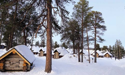 feature stay in a charming inari cabin