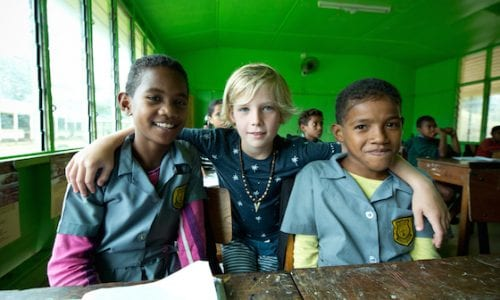 fiji school Cousteau0